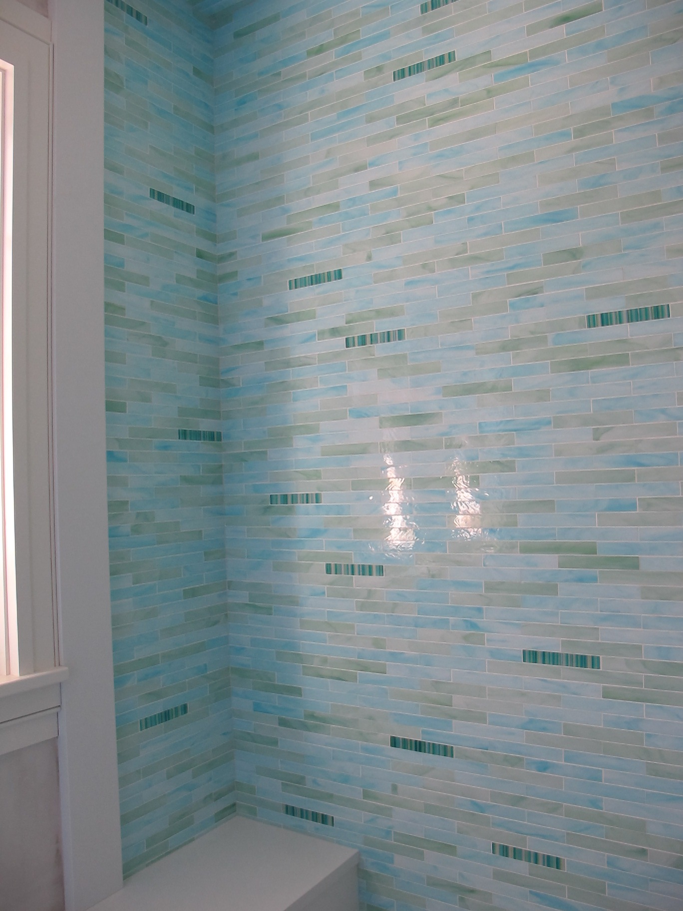 Glass Tile Installation: Guest Blogger | The Perfect Bath
