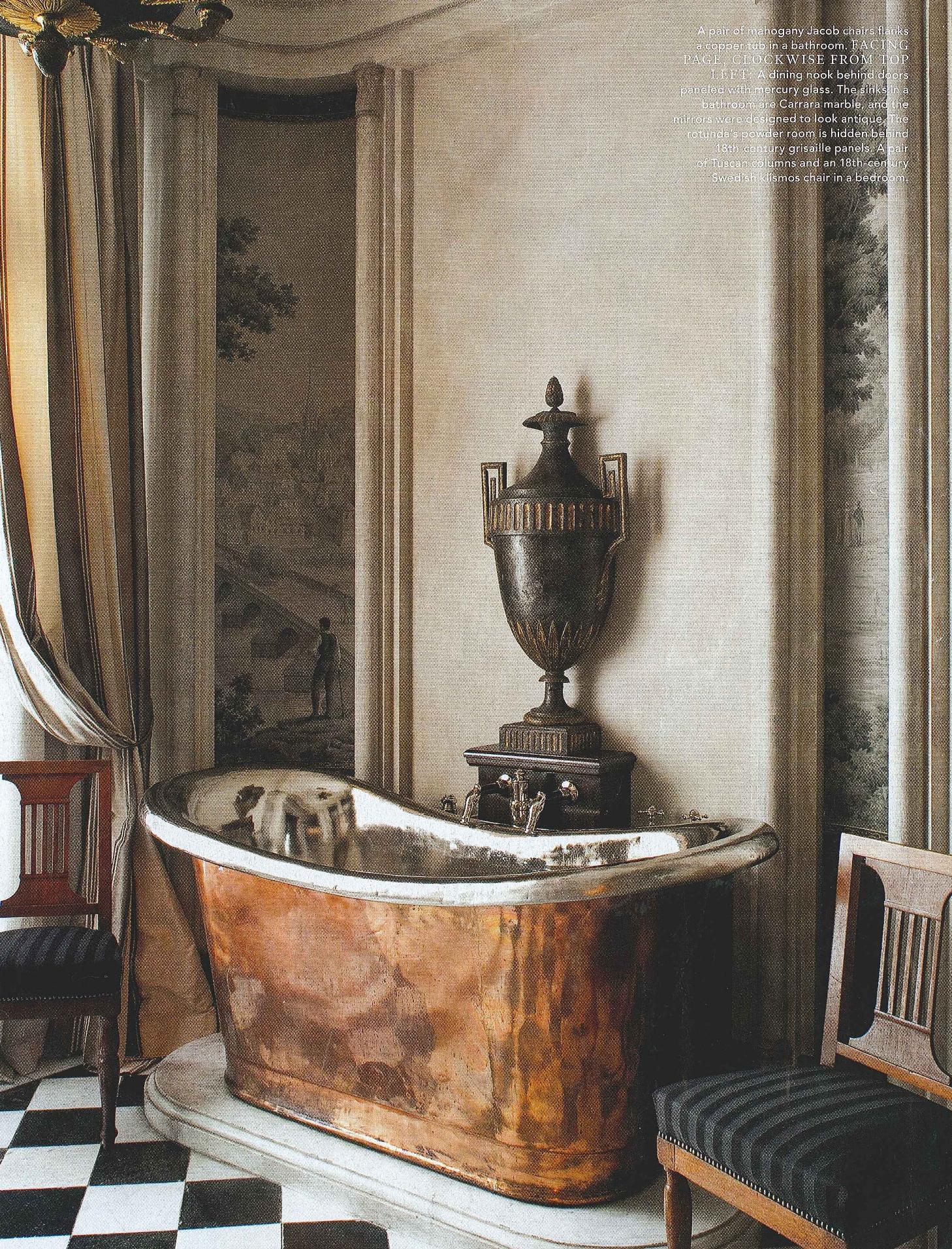 copper bathtub the perfect bath On waterworks copper tub