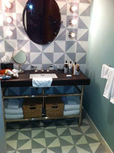 Cement Tile   The Perfect Bath